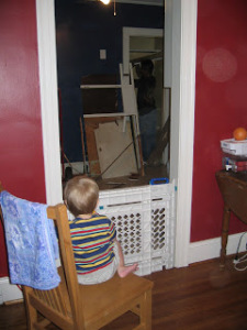 Kitchen remodels are a lot of fun and very entertaining....if you're two.