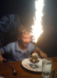 It's fun to make a big deal out of your birthday....even when you're an adult!