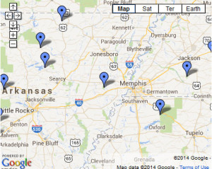 mapcamping