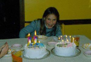 Me!  Many birthdays ago