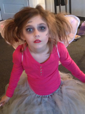 """A """"zombie fairy"""" - from Gia Marina"""