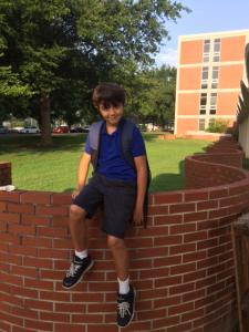 Gabriel Lansford, fourth grade