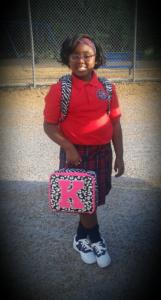 Kennedie Ivy Askew, third grade at St. John Catholic School