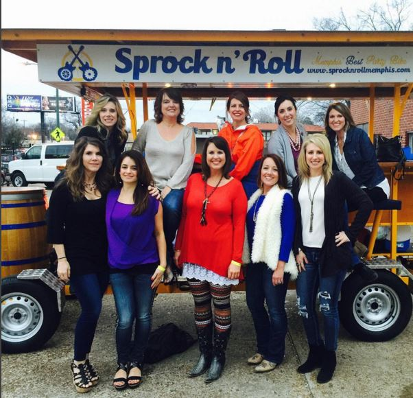 Giveaway: Sprock 'n Roll Party Bike Tour