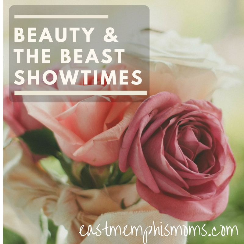 Beauty and the Beast Memphis showtimes - find a theatre to see it!